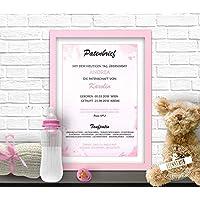 Personalisierter Patenbrief 34 Geschenk Taufe Geburt