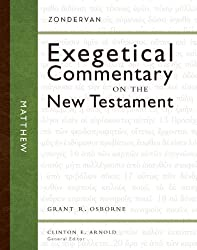 Matthew (Zondervan Exegetical Commentary on The New Testament series)