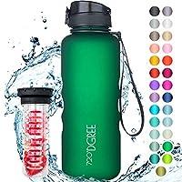 """720°DGREE Trinkflasche """"uberBottle"""" +Früchtebehälter - 1,5L - BPA-Frei - Wasserflasche für Sport, Fitness, Outdoor,..."""