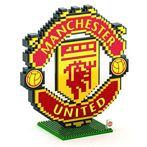 FOCO Manchester United F.C. BRXLZ - Juego de construcción con Logotipo del Manchester United