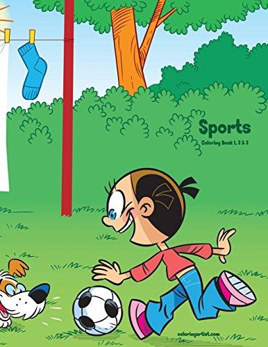 Sports Coloring Book 1, 2 & 3 por Nick Snels