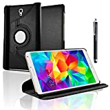 GSD Style Your Mobile {TM} Samsung Galaxy Tab S 21,3cm Zoll SM-T700SM-T705Flip Built in Magnet Sleep/Wake 360Standby PU-Leder Case Cover + Stylus