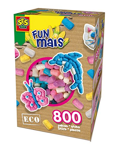 Eco 24968 - Funmais Bigbox Girly, 800 Stück (Kleben Messer)