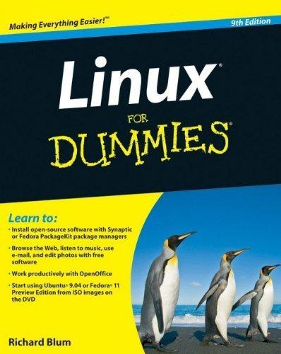 Linux For Dummies, 9th Edition by Richard Blum (2009-08-10) par Richard Blum;