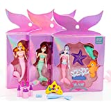 VagmineKreation's Mermaid character Erasers for Kids (Random Design, Random Color) (Pack of 1Box, 5 Eraser's)