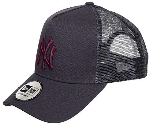 New Era - New York Yankees - A-Frame Trucker Cap - Gray Edition - Grahpite - One-Size Sommer Trucker Cap