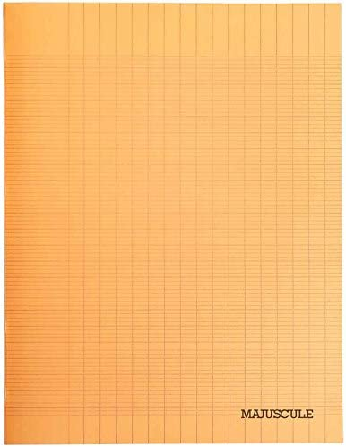 Majuscule Cahier Cahier Cahier piqué 48 Pages 24x32 Séyes Couverture polypropylène Orange B071YS84NG | Authentique  f8be46