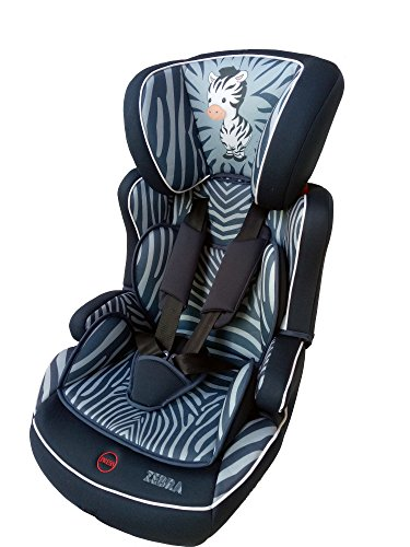 OSANN Kindersitz Lupo Isofix Nero Zebra, Gruppe 1,2,3