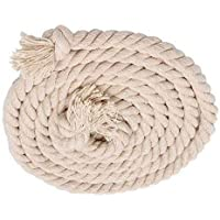 Tug of War Cotton Rope Standard Sports Twisted Rope 16MM/19MM Thickness (19 MM, 10 Meter)
