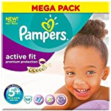 Pampers Active Fit Size 5+ Junior Plus 13-27kg (68)