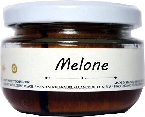 Duftglas Raumerfrischer Glas Duft Melone (Vanille Duft Mandarine)