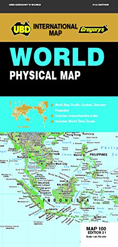 Physical world map il miglior prezzo di Amazon in SaveMoney.es on