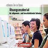 Class in a box, Allgemein bildende und berufsbildende Schulen, CD-ROM Didaktisches Material. Office Professional 2003