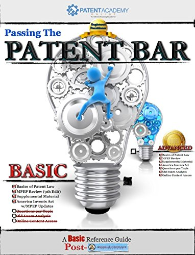 Passing the Patent Bar - A Basic Reference Guide (English Edition)