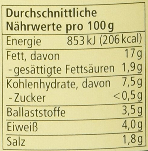 Alnatura Bio Pastete Grüner Pfeffer, vegan, 6er Pack (6 x 125 g) - 2