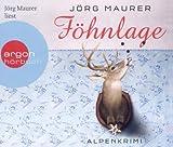 Föhnlage (Hörbestseller) von Maurer. Jörg (2011) Audio CD