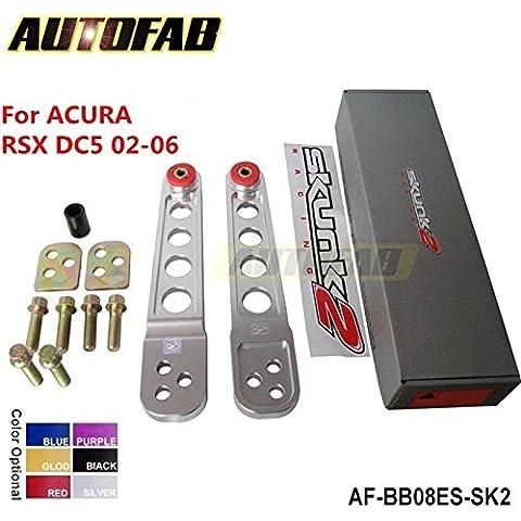 upetch (TM) autofab–per Honda 02–06Acura RSX DC5CNC in alluminio JDM posteriore inferiore Bracci di Controllo LCA af-bb08es-sk2 - Acura Rsx Base