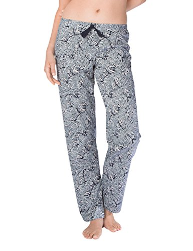 Calida Favourites Trend 5 Damen Hose, Pantaloni Pigiama Donna Blau (Parisian Night 429)