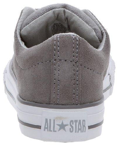 Converse Chuck Taylor All Star Stre Ox, Baskets mode mixte enfant Gris