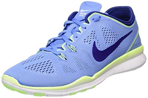 5 Free Nike Esecuzione In Grn chlk Fit 402 Blau Dp Ryl ghst Bl Femme whi Bleu 0 Tr 5 Bl 5Sqnp1Rqf
