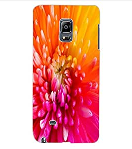 ColourCraft Beautiful Flower Design Back Case Cover for SAMSUNG GALAXY NOTE EDGE