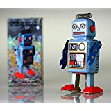 Robot Tin Toy Vintage Original Nuevo Nursery