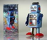 Robot giocattolo di latta vintage Repro New nursery MS294