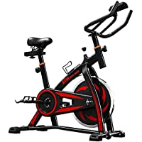 LIFE CARVER BTM Indoor Cycling Exercise Bike Spin Bike Studio Cycles Exercise Machines Adjustable Handlebars & Seat On Board Computer Reads Speed, Distance, Time, Calories