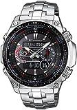 Casio 25098 - Reloj para hombres, correa de acero inoxidable color plateado