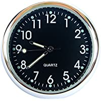 superzubehoer AT4 Salpicadero Coche Reloj Cuarzo Analógico Negro
