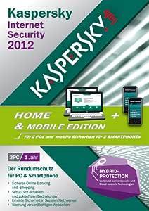 Kaspersky Internet Security 2012 2 User Home & Mobile