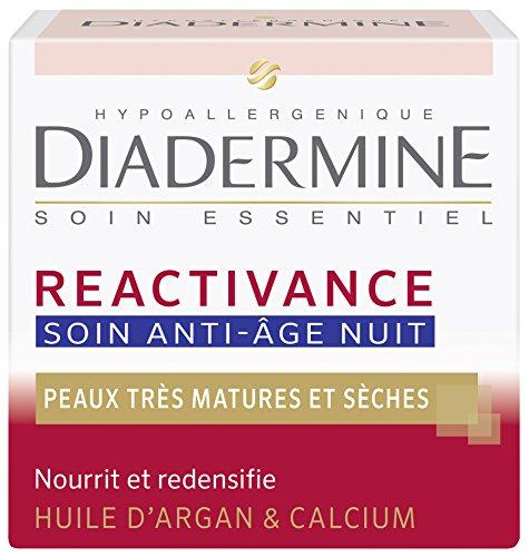 Diadermine - Réactivance - Anti-Aging Trattamento notte con olio di Argan - 50 ml