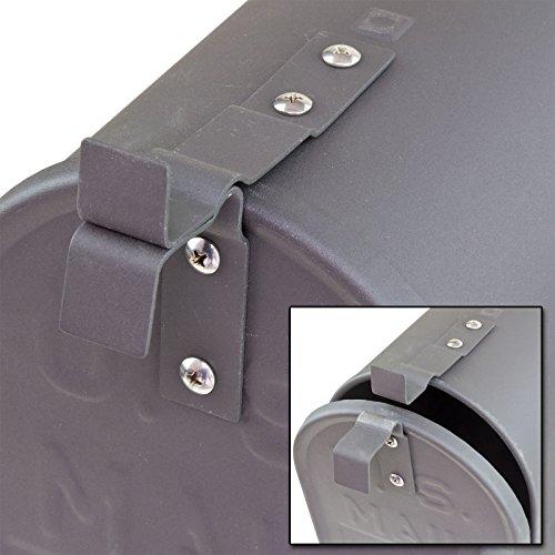 DEMA American Mailbox aus Stahl, Anthrazit - 4