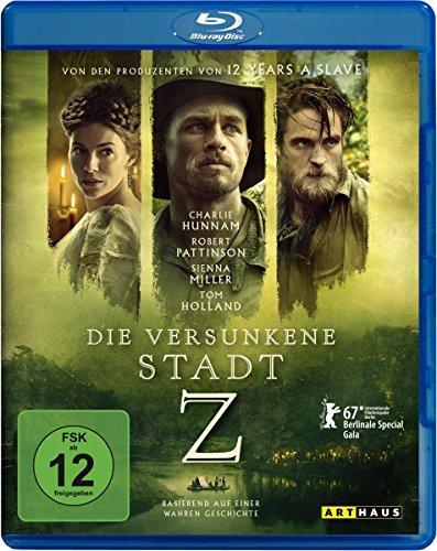 Die versunkene Stadt Z [Blu-ray] (Film Z)
