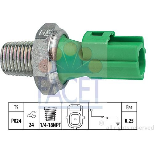 Facet 7.0146 Öldruckschalter Avs-7 Schalter