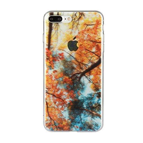 MOONCASE iPhone 7 Plus Coque, Ultra Mince Motif Etui TPU Silicone Antichoc Housse Case pour iPhone 7 Plus (Paysage 07) Paysage 03