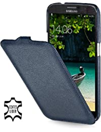 StilGut, UltraSlim, pochette exclusive pour le Samsung Galaxy Mega 6.3 i9200 Mega LTE i9205 i9208, en bleu