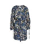 Suncoo Damen Kleid Cecile aus Viskose Bedruckt bleu T3