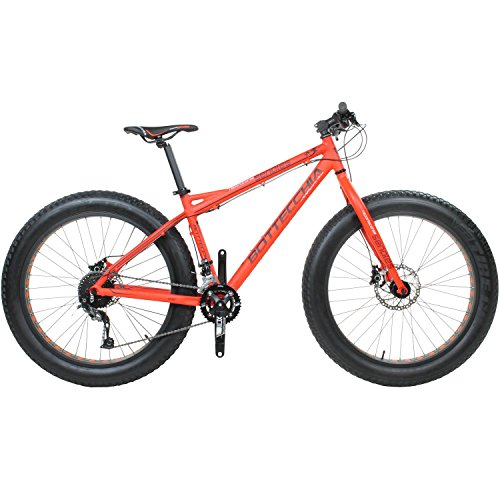 26' x 4.0' Fatbike Bottecchia 140 18-Gang FAT Fat Tyre Senales orange RH: 44 o. 52
