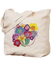 CafePress–Girls Rule. Tote Bag–Natural gamuza de bolsa de lona bolsa, bolsa de la compra