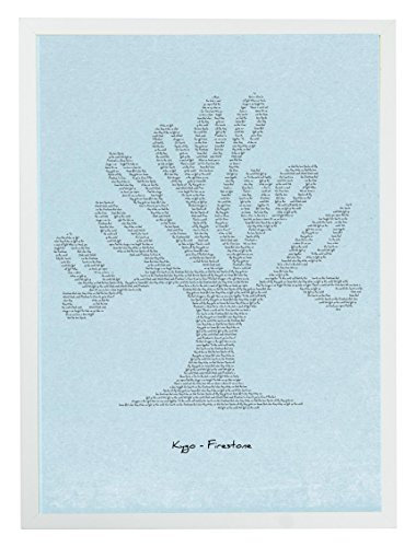 mixpixie-canzoni-stampa-quadro-blue-tree-kygo-firestone-di-carta