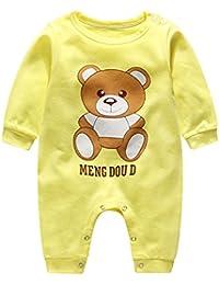 Navidad Bebés Mameluco ropa de dormir ropa - hibote Niños recién nacidos Niñas de algodón pijamas Xams Unisex Bebé estilo de los animales trajes 0-12 meses