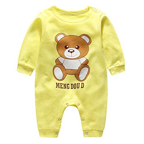 Niedlich Neugeborenen Kleinkind Baby Jungen Mädchen Strampler Overall Bodysuit Kleidung Outfit Kleidung-Set 9-12 Monate