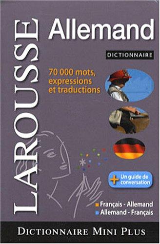 Minidictionnaire français-allemand et allemand-français par Karin Albert