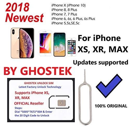 Ghostek Smart Unlock Card 12 Supreme 100% Original compatiable for iPhone  5-5s-6/6s-7-7plus-8-8plus-X-XS-Max-XR