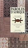 Telecharger Livres Paroles d Afrique (PDF,EPUB,MOBI) gratuits en Francaise