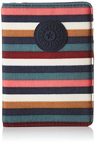 Kipling PASS PORT Portefeuille passeport, 14 cm, 0.01 liters, Multicolore (Multi Stripes)