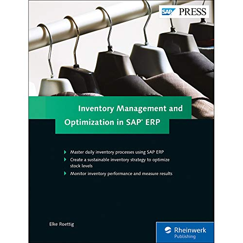 Inventory Management and Optimization in SAP ERP (SAP PRESS: englisch) - Inventory Business Software