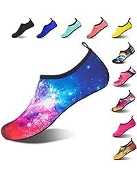 HMIYA Water Shoes Barefoot Quick-Dry Slip On Aqua Yoga Beach Surf Swim Socks for Men Women