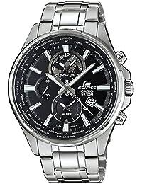 Casio Herren-Armbanduhr Edifice Analog Quarz Edelstahl EFR-304D-1AVUEF